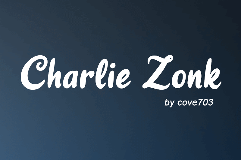 Charlie Zonk Font