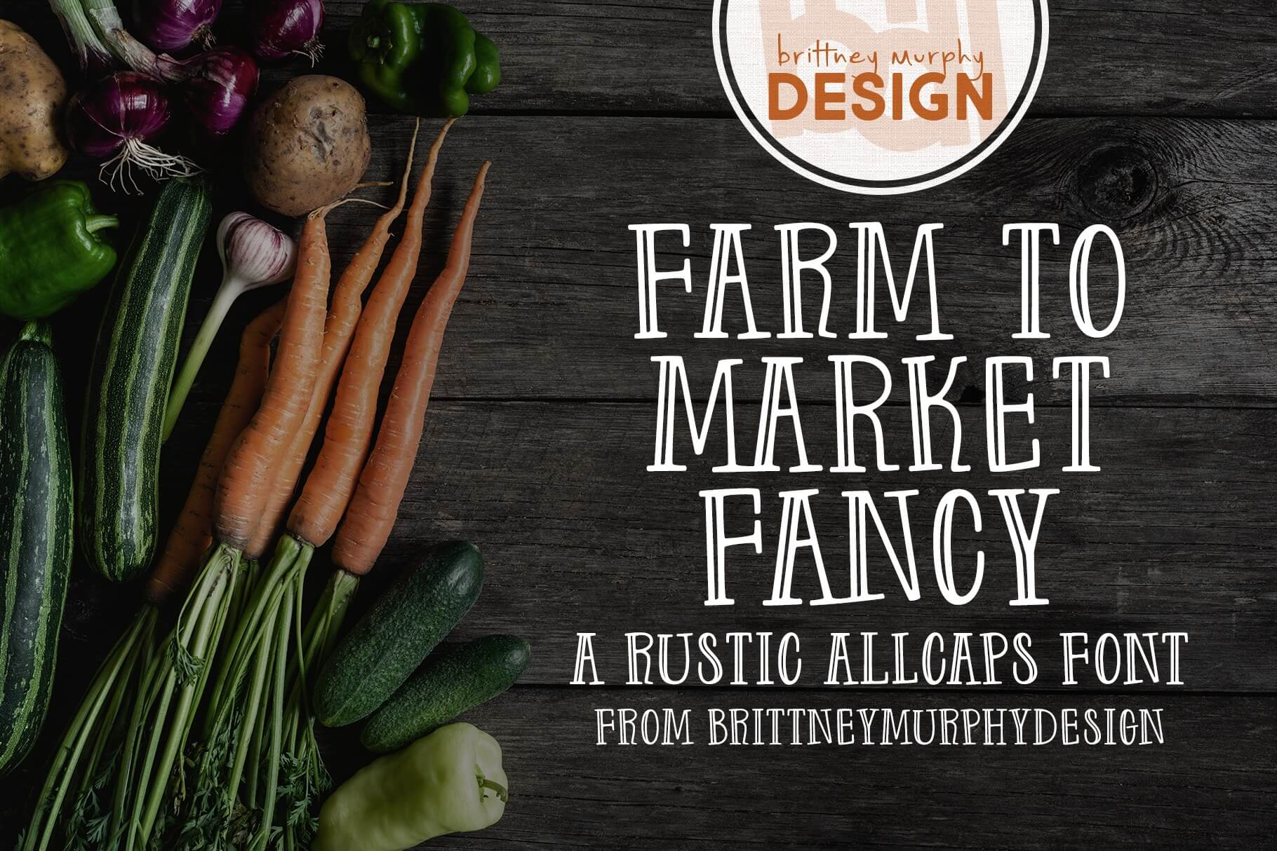 Farm to Market Fancy Font