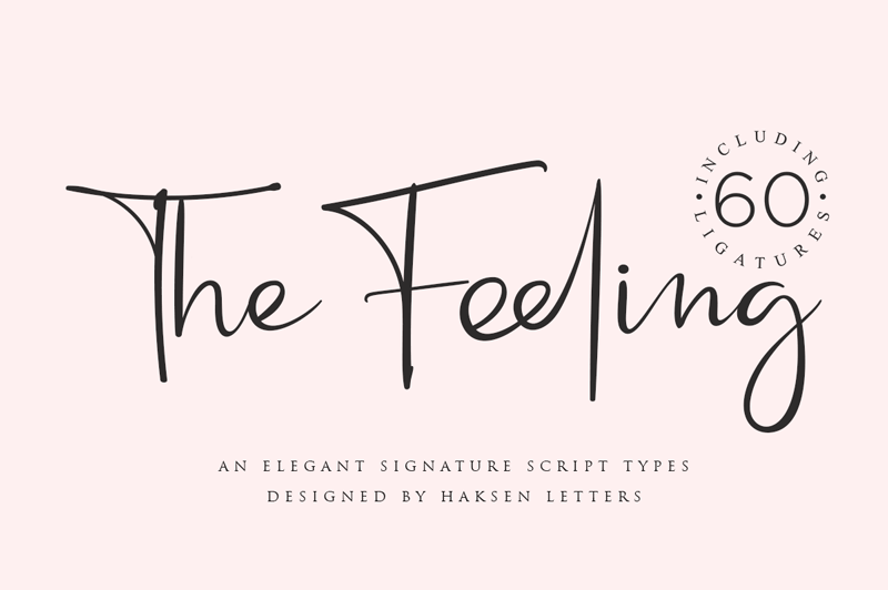 The Feeling Font
